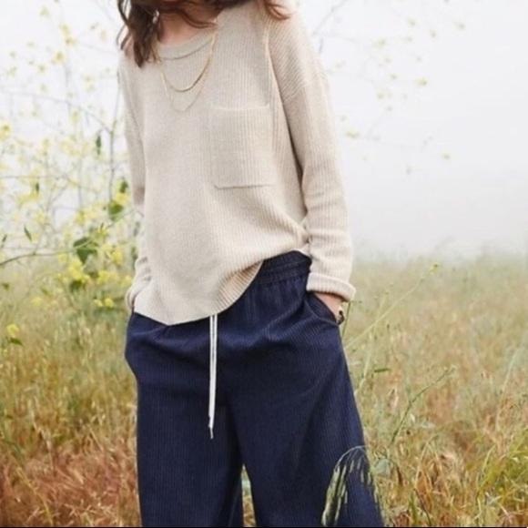 Madewell Thompson Pocket Knit Pullover